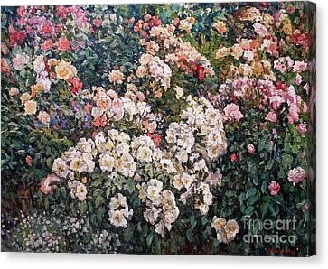 Roses Canvas Print by Andrey Soldatenko