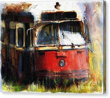 Rust In Peace Canvas Print by Bob Salo