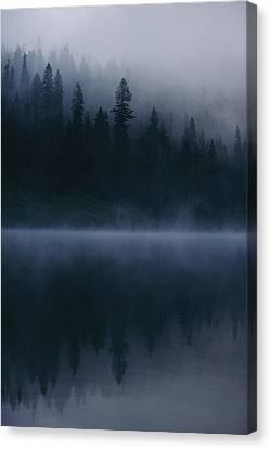 Sacred Spots Around Mount Shasta Canvas Print by Michael Nichols