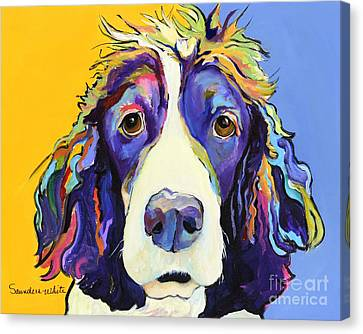 Sadie Canvas Print by Pat Saunders-White