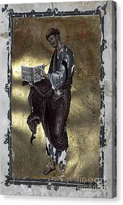 Saint Luke Canvas Print by Granger