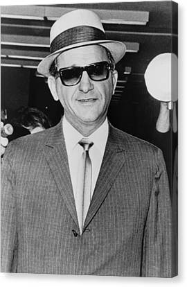 Sammy Giancana 1908-1975, American Canvas Print by Everett