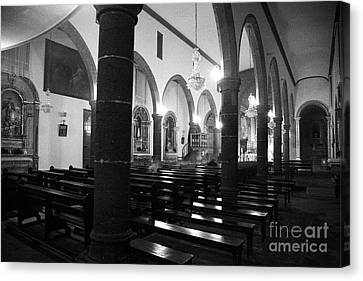 Sao Miguel Arcanjo Church Canvas Print by Gaspar Avila