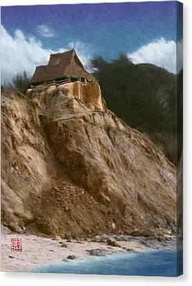 Seacliff House Canvas Print by Geoffrey C Lewis