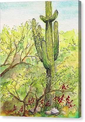 Sentinel Canvas Print by Nancy Matus