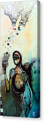 Separation Of Mind Canvas Print by Mark M  Mellon
