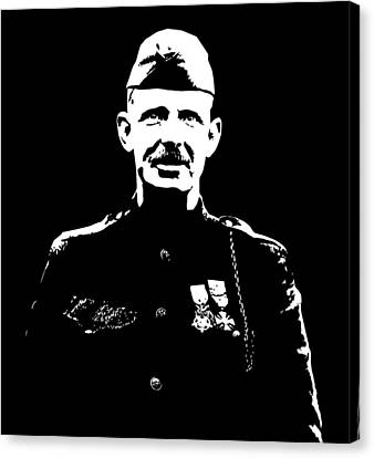 Sergeant Alvin York Canvas Print by War Is Hell Store