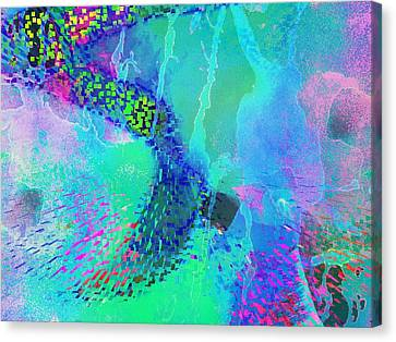 Sideral Forms Canvas Print by Contemporary Art