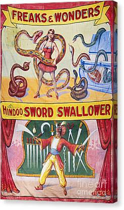 Sideshow Poster, C1975 Canvas Print by Granger