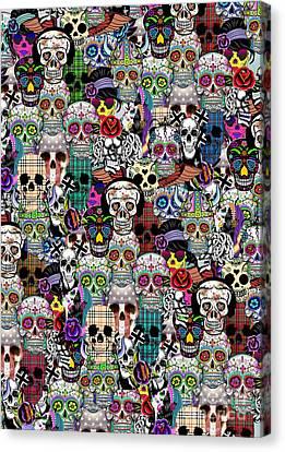 Halloween Canvas Print by Mark Ashkenazi