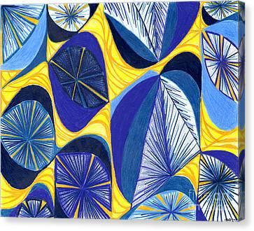 Solar Rays Canvas Print by Kim Sy Ok