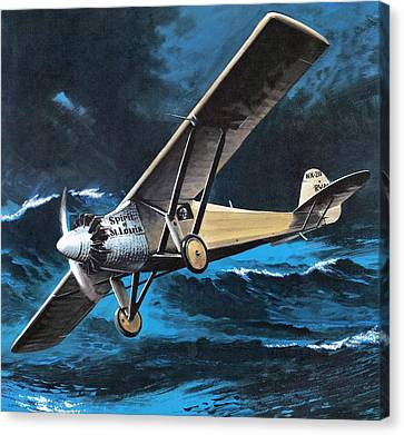 Spirit Of St Louis Canvas Print by Wilf Hardy