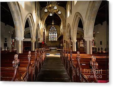St Andrews Church, Aysgarth Canvas Print by Stephen Smith
