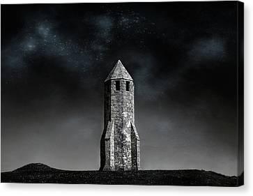 St. Catherine's Oratory -  Isle Of Wight Canvas Print by Joana Kruse
