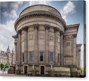 St George's Hall Liverpool Canvas Print by Georgia Fowler