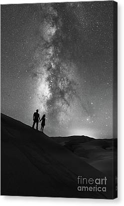 Star Crossed Lovers  Canvas Print by Michael Ver Sprill