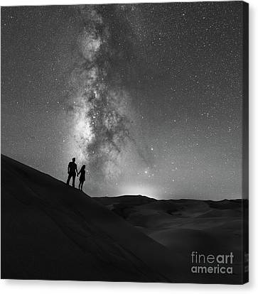 Star Crossed  Canvas Print by Michael Ver Sprill