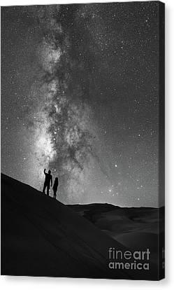 Stargazers  Canvas Print by Michael Ver Sprill