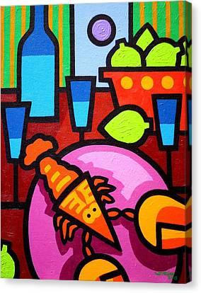 Still Life At Window  Canvas Print by John  Nolan