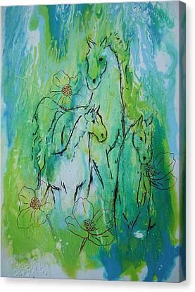 Summertime Canvas Print by Bitten Kari