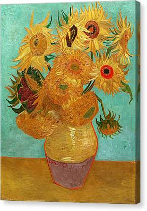 Sunflowers Canvas Print by Van Gogh