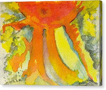 Sunny Canvas Print by Carla Stein