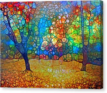 Sunoka Autumn Canvas Print by Tara Turner
