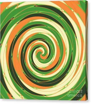 Swirl Canvas Print by Gaspar Avila