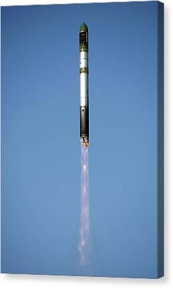 Terrasar-x Satellite Launch Canvas Print by Ria Novosti