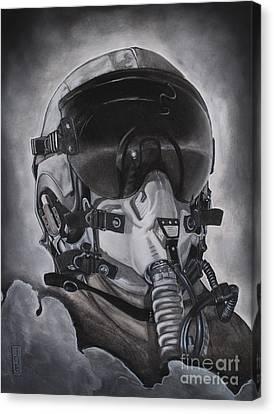 The Aviator Canvas Print by Joe Dragt