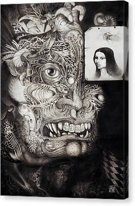 The Beast Of Babylon Canvas Print by Otto Rapp