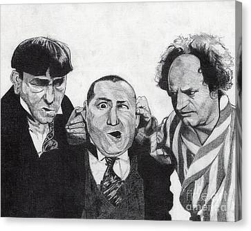 The Boys Canvas Print by Jeff Ridlen