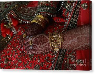 The Bride Canvas Print by Irfan Dar