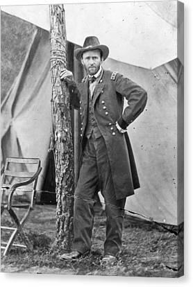 The Civil War. Ulysses S. Grant. 1864 Canvas Print by Everett