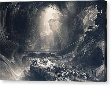 The Deluge Canvas Print by John Martin