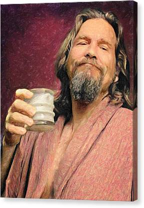 The Dude Canvas Print by Taylan Soyturk