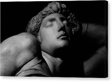 The Dying Slave Canvas Print by Michelangelo Buonarroti