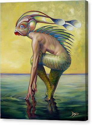 The Finandromorph Canvas Print by Patrick Anthony Pierson