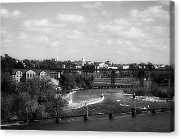 The Flats Of Appleton Wisconsin Canvas Print by Mountain Dreams