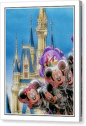 The Happiest Place On Earth Canvas Print by Kenneth Krolikowski