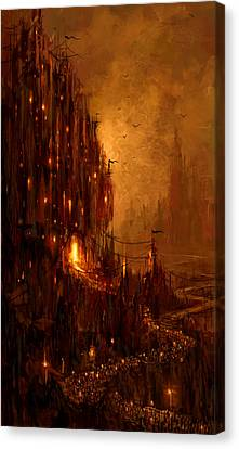 The Hive Canvas Print by Philip Straub