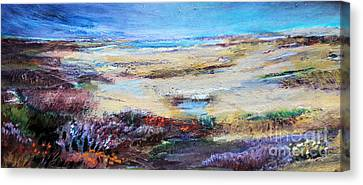 The Inlet Canvas Print by Diane Ursin