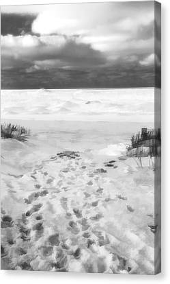 The Journey Begins Canvas Print by Dan Sproul