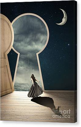 Curiouser And Curiouser Canvas Print by Juli Scalzi