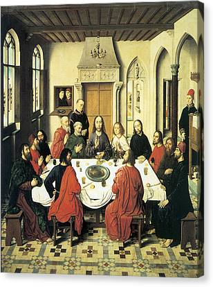 The Last Supper Canvas Print by Dieric Bouts