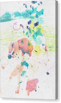 The Little Pony Canvas Print by Contemporary  Art