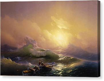 The Ninth Wave Canvas Print by Mountain Dreams
