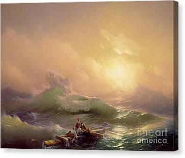 The Ninth Wave Canvas Print by Ivan Konstantinovich Aivazovsky