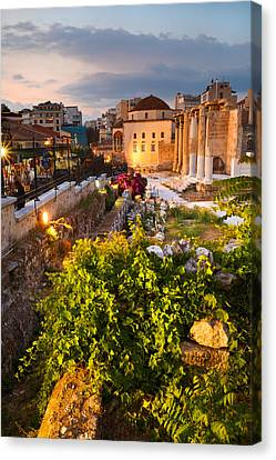 The Old Mosque Canvas Print by Milan Gonda
