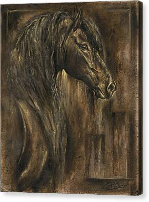 The Spirit Of A Horse Canvas Print by Paula Collewijn -  The Art of Horses
